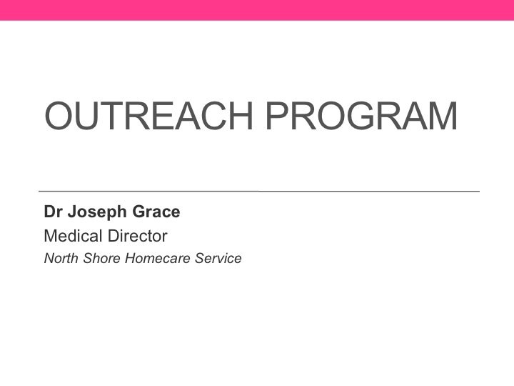 Outreach Programme brochure (pdf)
